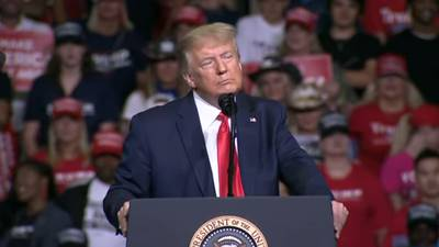 Trump Campaign disputes crowd totals for Tulsa rally