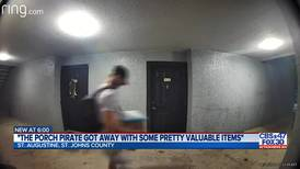 St. Augustine police search for apartment porch pirate