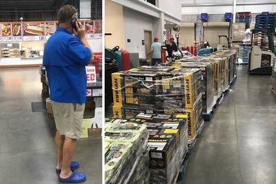 Jacksonville man in viral photo buying generators for Bahamas says ravaged islands need help