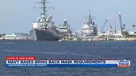New guidelines are requiring everyone on military bases to wear a mask
