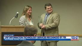 UNF Information Technology Services recognized by FBI in fight against cybercrime