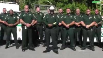 WATCH: Florida sheriff warns protesters by saying he's deputize gun owners