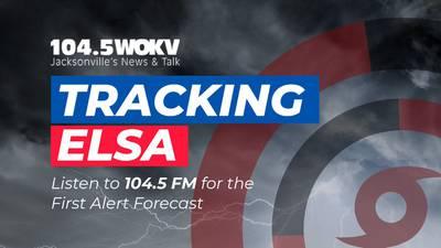 ELSA: Outer bands moving through Northeast Florida