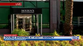 'People were bolting': Witnesses describe chaotic scene during Hyatt Regency shooting