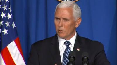 Pence pushes for schools to open as U.S. sets new virus mark