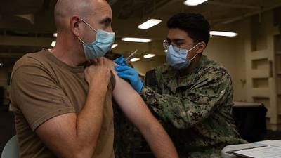 US Navy updates discharge details for sailors who refuse COVID vaccine
