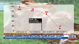Investigates: Clay suspended curbside recycling in August, reports yard waste pickup on track