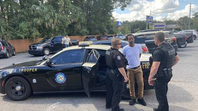 Troopers arrest man wanted in Jacksonville shooting on I-295