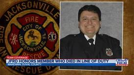 Prayer vigil held for fallen JFRD firefighter