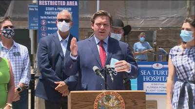 Gov. DeSantis again says he has no intentions of shutting down state's economy a second time