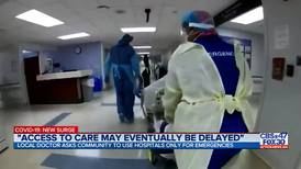 Local hospital treating patients in ER waiting room as staff juggle COVID-19 patients