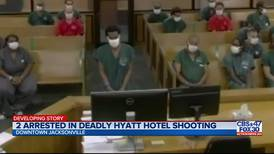 Suspect in deadly Hyatt Regency shooting makes first court appearance