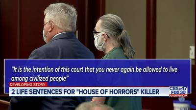 Jacksonville 'House of Horrors' convicted killer Russell Tillis sentenced to 2 consecutive life sentences