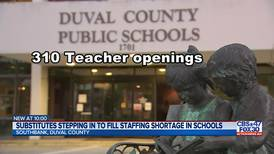 Hundreds of teacher vacancies at DCPS, substitutes step in