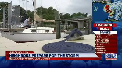 Tracking Elsa: Boaters doubling down lines, marina crews staying overnight in preparation for Elsa