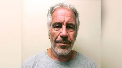 Jeffrey Epstein statue appears in New Mexico