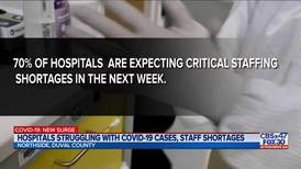 Florida hospitals expecting critical staffing shortages in the next week